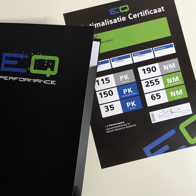 EQ Performance certificaten