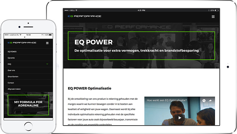 EQ Performance Responsive