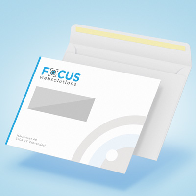 Focus Websolutions Envelop ontwerp