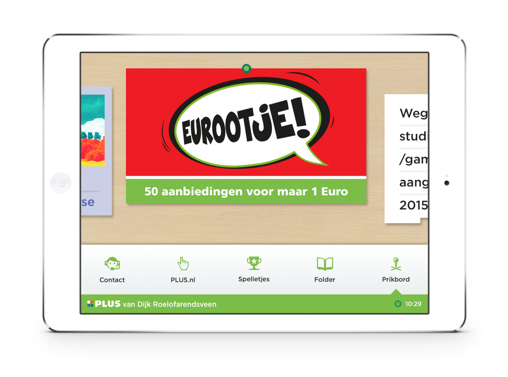 PLUS Koffiehoek applicatie